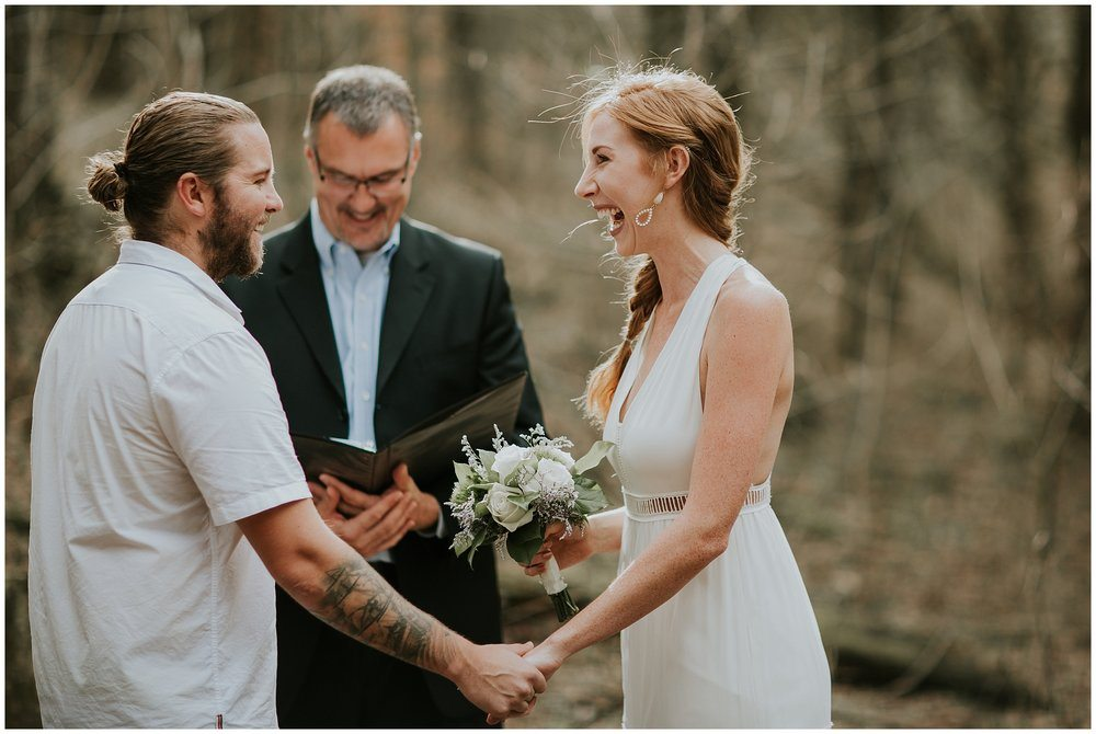 Fun elopement
