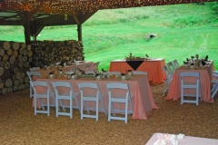 Small wedding reception